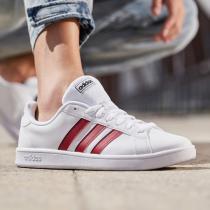 阿迪达斯男鞋板鞋低帮小白鞋休闲运动鞋EG5939
