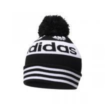 adidas阿迪達斯三葉草男帽運動帽休閑針織帽保暖毛線帽ED8761