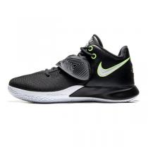 NIKE耐克男鞋籃球鞋2020新款歐文簡版城市緩震黑色運動鞋CD0191