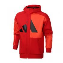 阿迪達斯男服夾克2020新款新年款連帽開衫外套休閑運動服FM9418