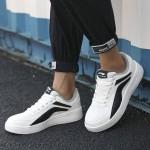 李寧男子運動鞋耐磨板鞋白色休閑鞋AGCP335-4