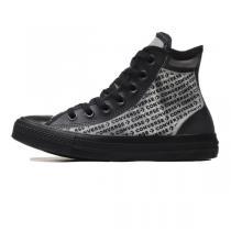CONVERSE男鞋女鞋板鞋新款果凍鐳射透明高幫街頭休閑運動鞋165668C