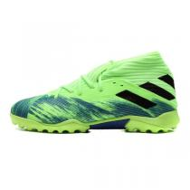 阿迪达斯男鞋足球鞋2020新款NEMEZIZ 19.3 TF碎钉运动鞋FV3994