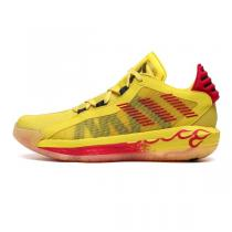 阿迪達斯男鞋籃球鞋2020新款DAME 6 GCA利拉德實戰運動鞋FW9026