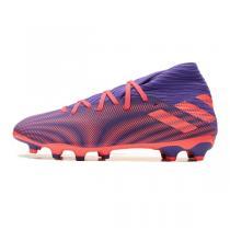 阿迪達斯男鞋足球鞋20款NEMEZIZ .3 MG足球訓練實戰運動鞋EH0523