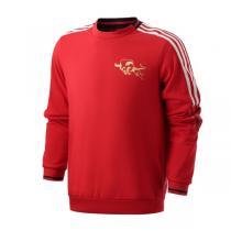 阿迪達斯男服衛衣2021新款新年款曼聯足球訓練休閑運動服GK9440