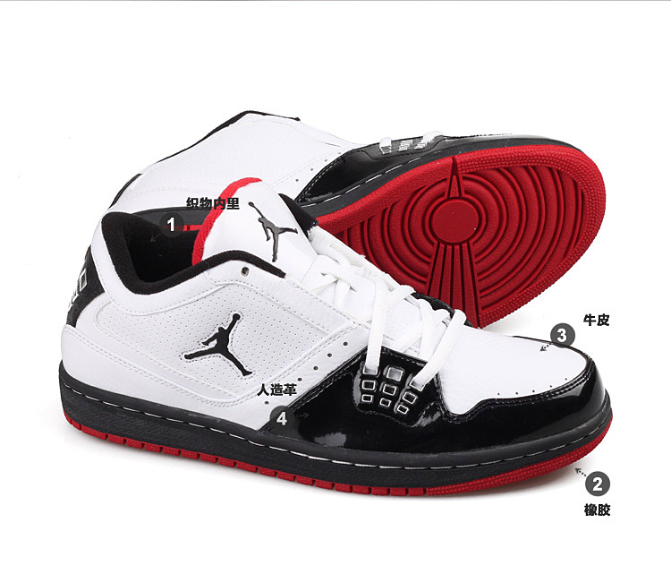 NIKE JORDAN 1 FLIGHT LOW 耐克篮球鞋 350610 109