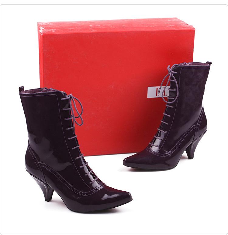 6.筒围-ELLE 依尼靴子 女鞋 LNJ17447DR1DZ8 报价 价格 简介 介绍图片