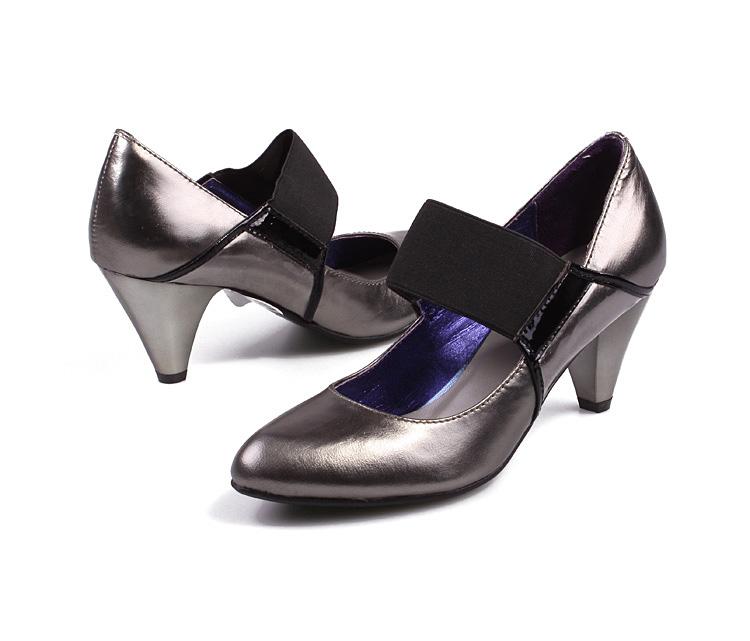6.筒围-Millies 妙丽单鞋 女鞋 LJA07641DB5BQ8 报价 价格 简介 介绍图片