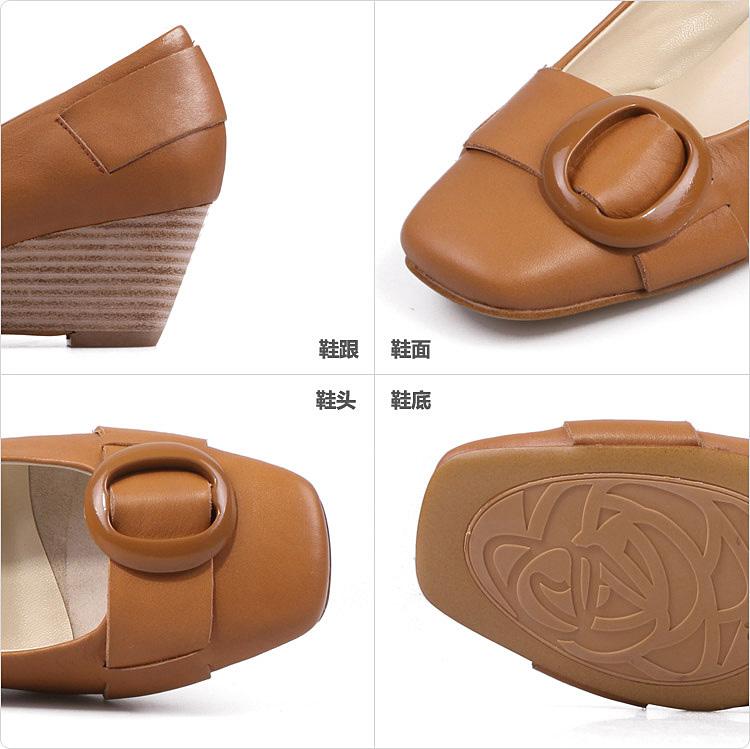 6.筒围-Millies 妙丽单鞋 女鞋 LMA10009DT1BQ9 报价 价格 简介 介绍图片