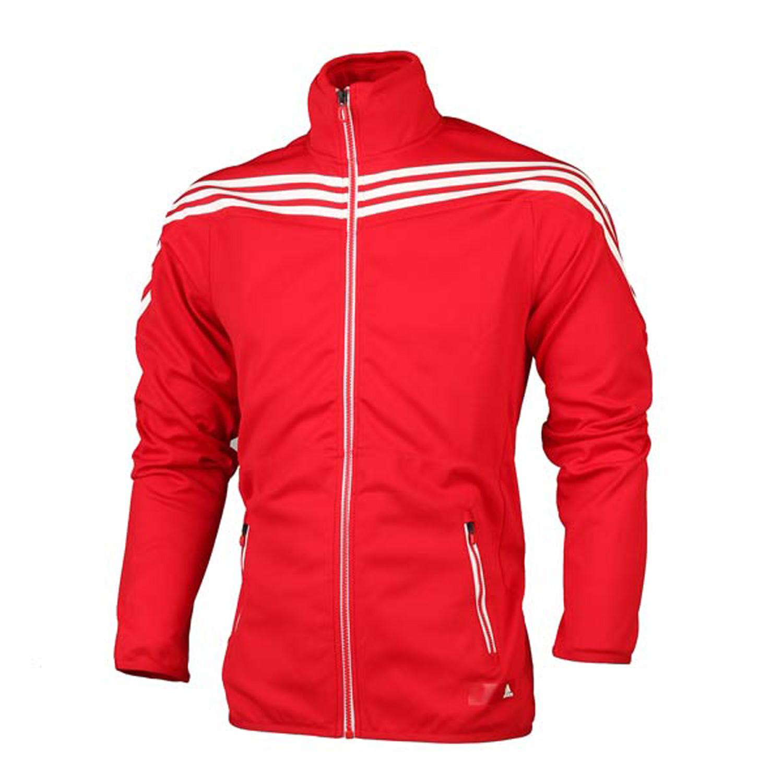 th 阿迪达斯adidas 男装夹克 经典三条纹运动服 x23483