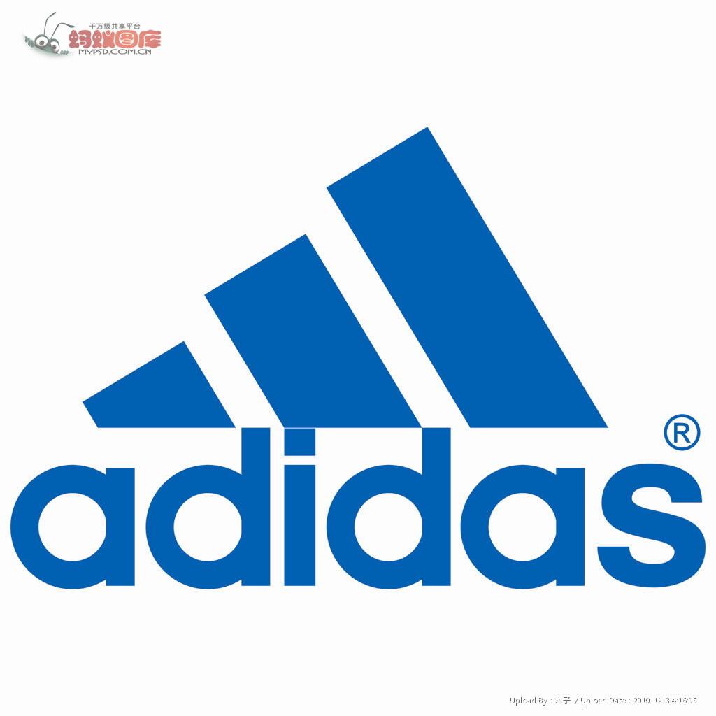 adidas阿迪达斯logo的演变历史