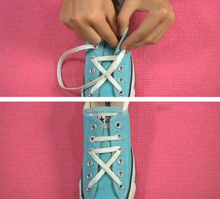 【图】鞋带怎么系成五角星?鞋带的24种系法五角星图片