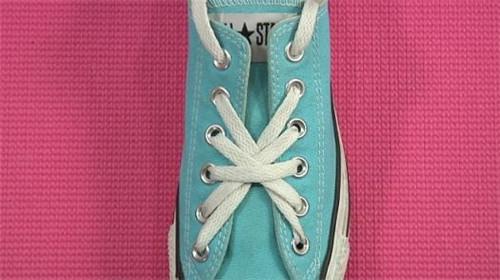 【图】鞋带花式系法 花式鞋带系法图解