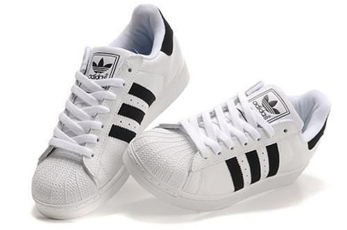阿迪达斯男式鞋三叶草板鞋贝壳头板鞋男女式鞋情侣鞋