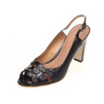 37码瑕疵品 Easy Spirit 凉鞋 女鞋 CX-ESAVEL-BLACK/BLK-SNAKE-00001