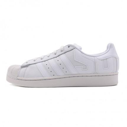 B37986】三叶草originals男白色板鞋图片