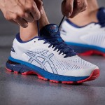 ASICS亚瑟士男跑步鞋2018新款GEL-KAYANO 25运动鞋1011A019-100