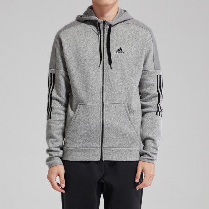 DM7588】阿迪达斯adidas男灰色夹克图片 名鞋库