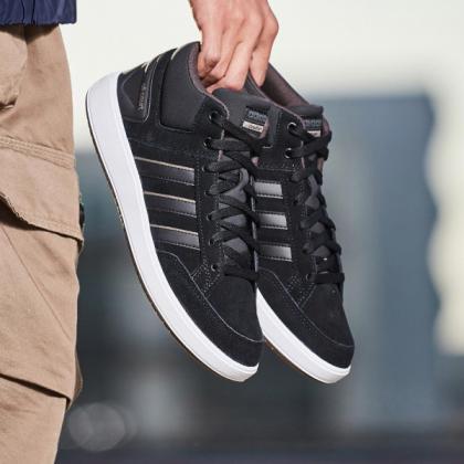 阿迪达斯B43858】adidas男鞋板鞋网球高帮板
